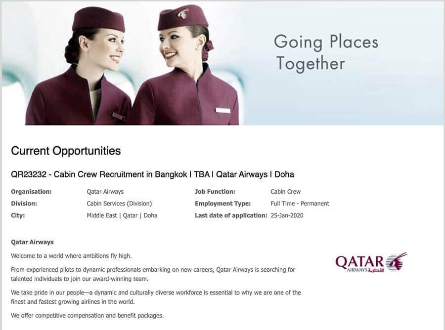 qatar thailand 2020